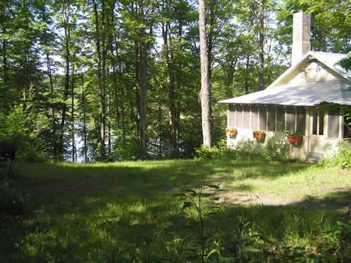 tpcottage brookfield vermont lakeside rental property